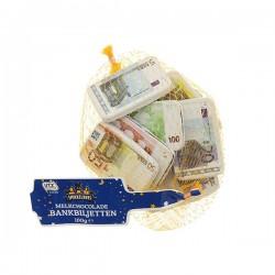 Huismerk Chocolade bankbiljetten 100 gram