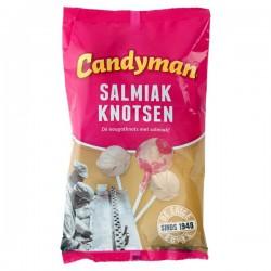 Candyman Salmiak knotsen 140 gram