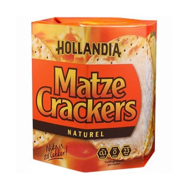 Hollandia Matze crackers naturel 100 gram