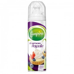 Campina Slagroom royale spuitbus 225 ml (Alleen binnen de E.U)