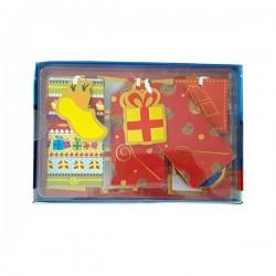 Sinterklaas Kado labels en stickers set