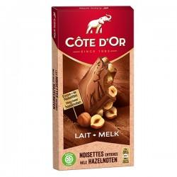 Côte d'Or Bloc melk hazelnoten 180 gram