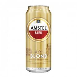 Amstel Blond blik 500 ml