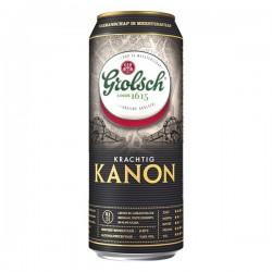 Grolsch Kanon bier blikje 500 ml