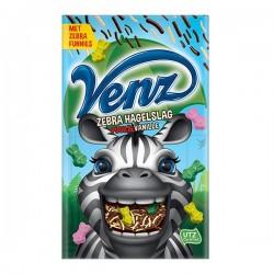Venz rimboe Zebra hagelslag Puur-vanille 380 Gram