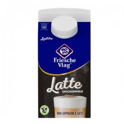 Friesche Vlag Latte opschuim melk pak 500 ml