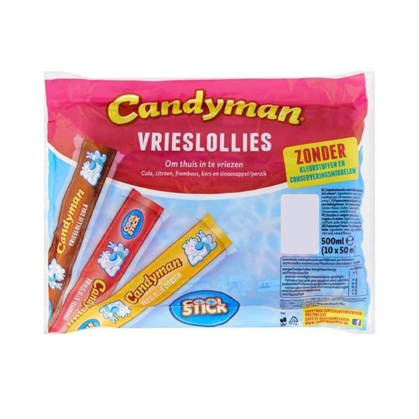 Candyman Vrieslollies 10 stuks