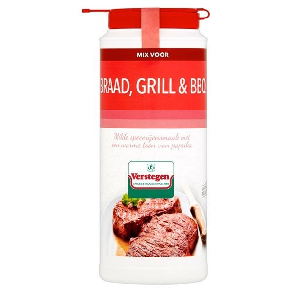 Verstegen Braad Grill en BBQ kruiden strooier XL 225 gram
