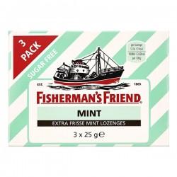 Fisherman's friend Mint pastilles 3-pak