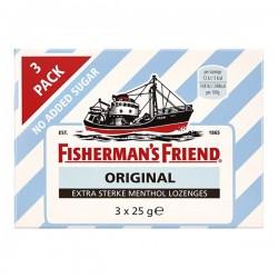 Fisherman's friend Original suikervrij pastilles 3-pak