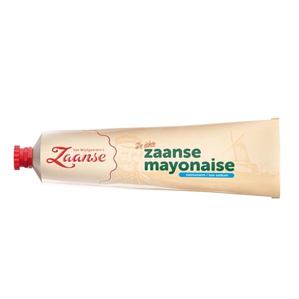 Zaanse Mayonaise natriumarm tube 160 ml