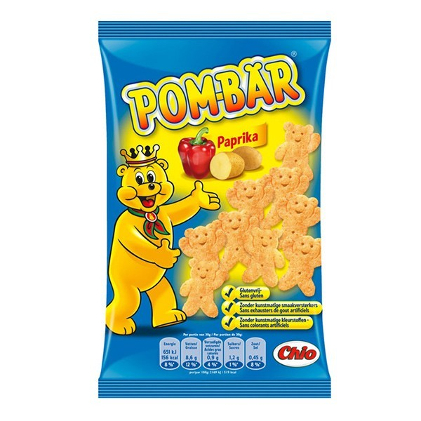 Chio Pombär paprika zak 90 Gram