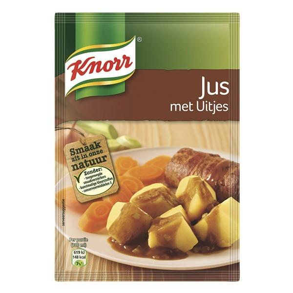 Knorr Jus met uitjes