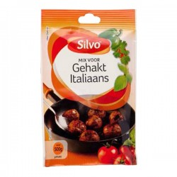 Silvo Mix voor Gehakt Italiaans zakje 40 gram