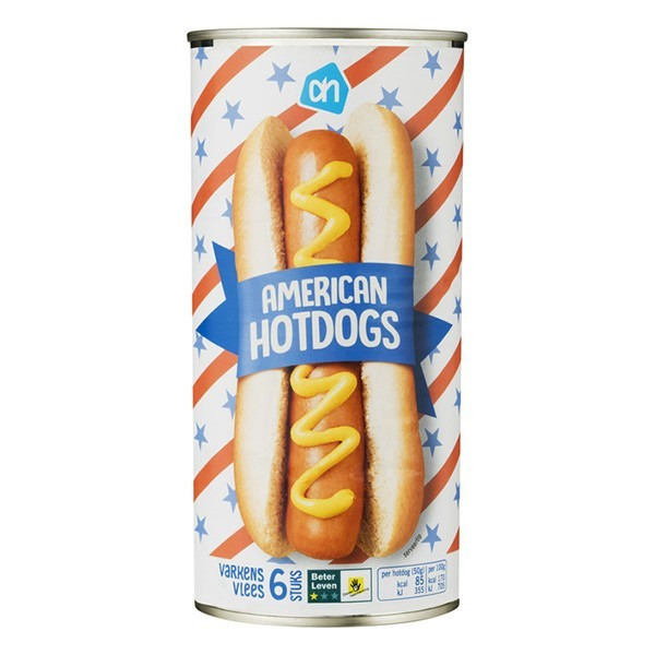 Huismerk Hot Dogs 550 gram