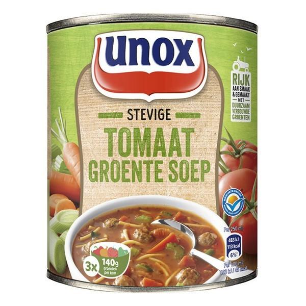 Unox stevige Tomaten-groente soep 800 ml