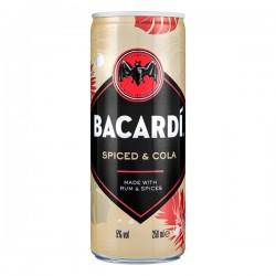 Bacardi Oakheart & Cola Blik 250 ml