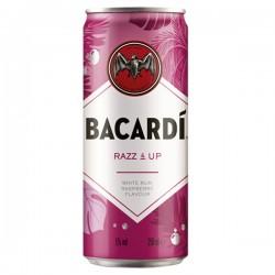 Bacardi Razz & Up Blik 250 ml