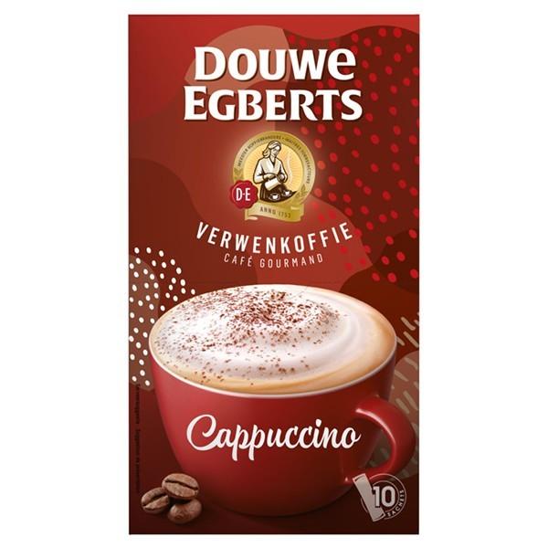Douwe Egberts Cappuccino 10 zakjes