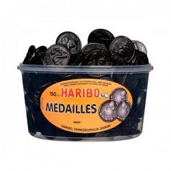 Haribo Drop medailles silo 150 stuks