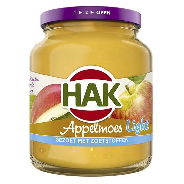 Hak Appelmoes light 350 gram