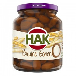 Hak Bruine Bonen 0% 370 gram