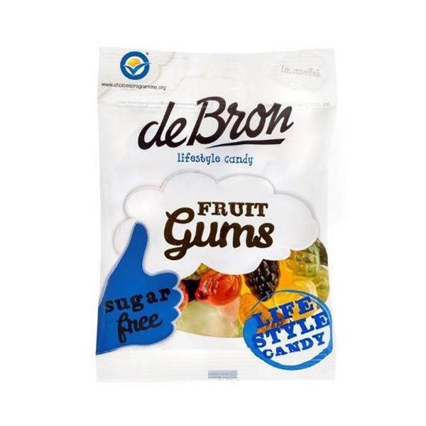 De Bron Fruit gums 90 Gram