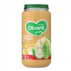 Olvarit Baby 12 maanden Bloemkool, aardappel en ei 250 gram