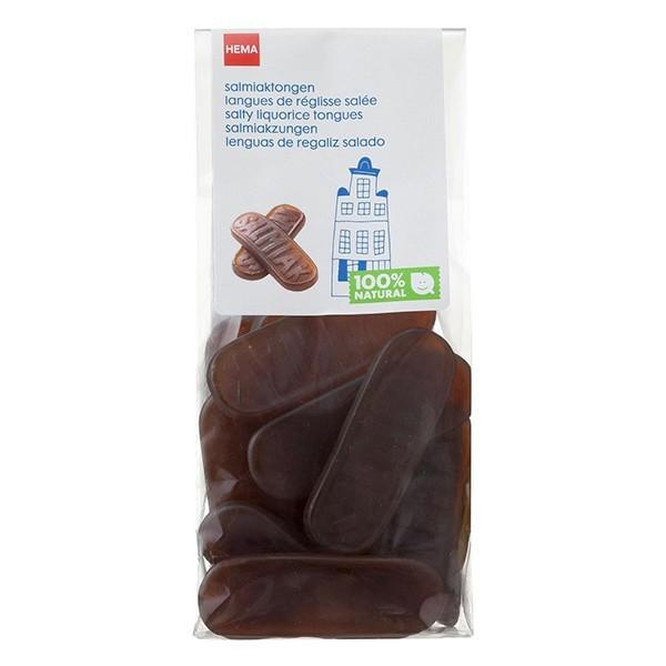 Hema Oud-Hollandse Salmiaktongen 150 Gram