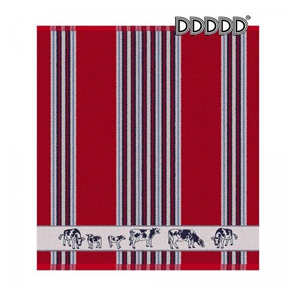 DDDDD Keukendoek Friesian rood