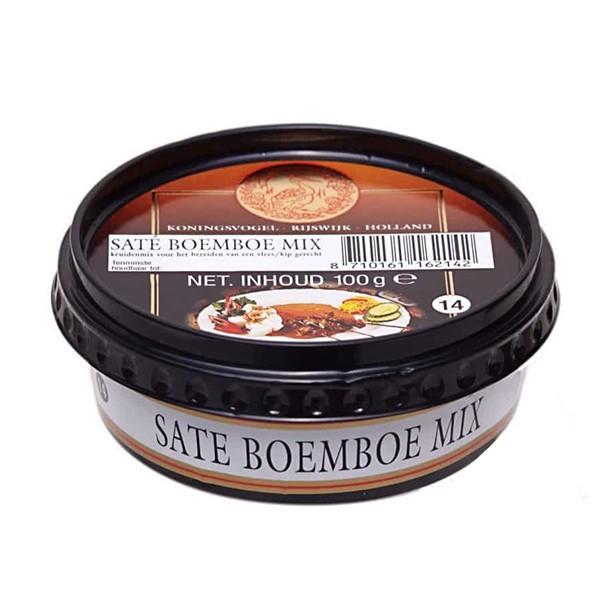 Koningsvogel Sate Boemboe mix 100 gram