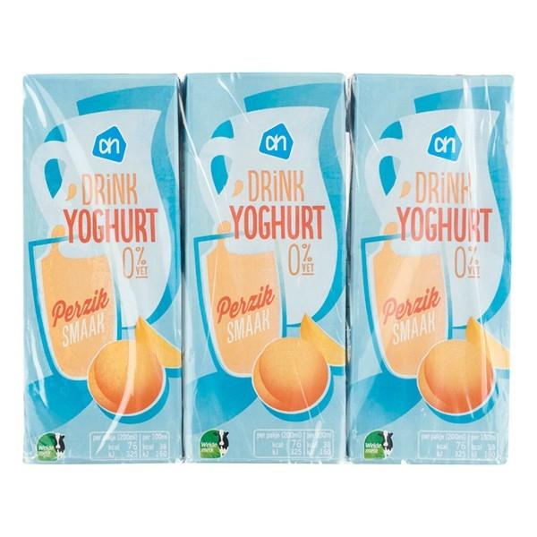 Huismerk Drinkyoghurt Perzik 6 x 200 ml