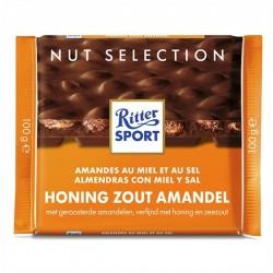 Ritter-Sport Melk - Honing zout amandel 100 gram