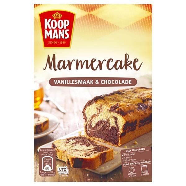Koopmans Mix voor Marmer cake