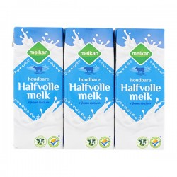 Huismerk Houdbare halfvolle melk 6 x 200 ml