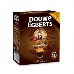 Douwe Egberts Espresso oplos koffie 25 zakjes