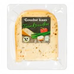 Molenland Goudse kaas Tuinkruiden stuk 250 gram