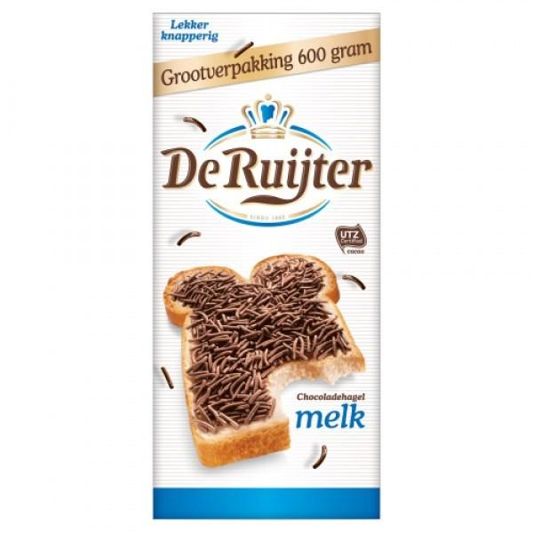 De Ruijter Hagelslag Melk XL 610 gram