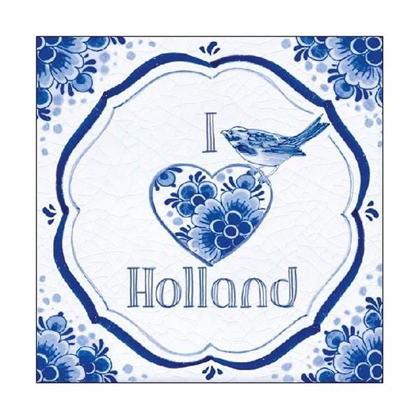 Servetten I love Holland 20-pak