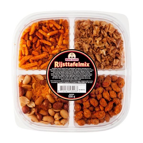 Kokki Djawa Rijsttafel mix 250 gram