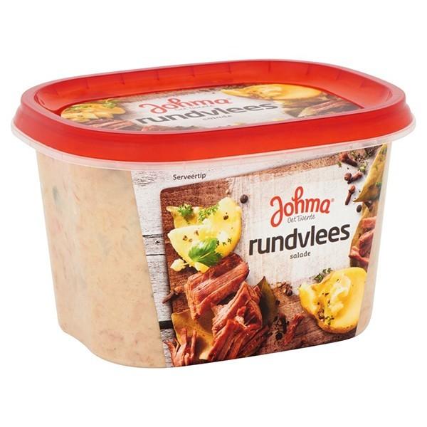 Johma Rundvlees salade 500 gram (Alleen binnen de E.U)