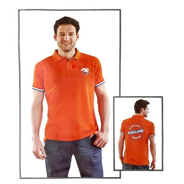 Oranje Polo shirt Holland