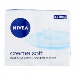 Nivea Crème Soft Handzeep 3 x 100 gram