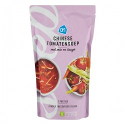 Huismerk soep in zak Chinese tomaten 570 ml
