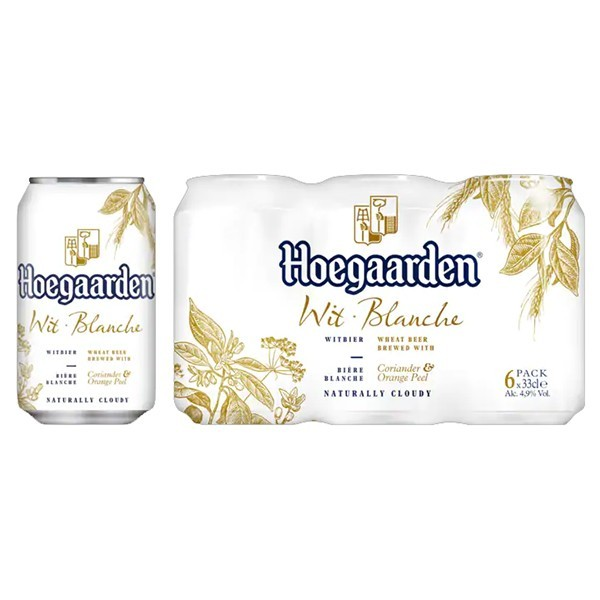 Hoegaarden Wit bier 6-pak blikjes