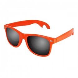 Oranje Zonnebril met flessenopener
