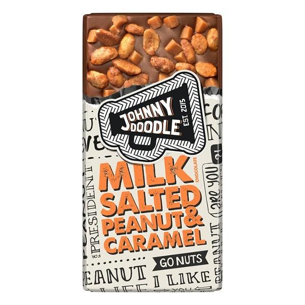 Johnny Doodle Milk salted Peanut & caramel 150 gram