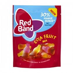 Red Band minder suiker Cola fruit mix 200 gram