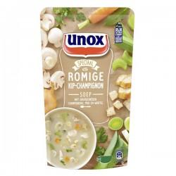 Unox Soep in zak Kip-champignonsoep 570 ml
