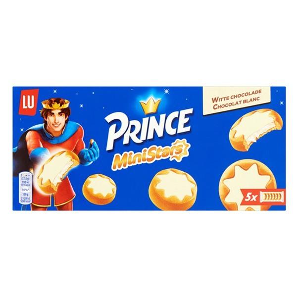 Prince Ministars witte chocolade 187 gram